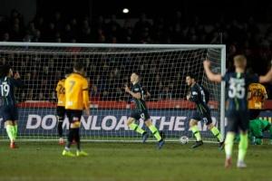 Зинченко помог «Ман Сити» пробиться в 1/4 финала Кубка Англии