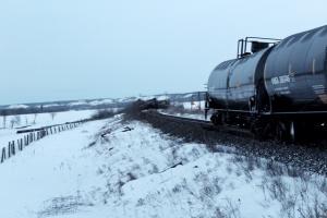 В Канаде сошел с рельсов поезд с нефтью