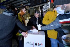 У Сербії учасникам протестів пропонували підписати петицію про перевибори