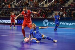 Сборная Украины заняла 4 место на первом чемпионате Европы по футзалу среди женщин
