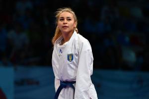 Украинки Терлюга и Кривая завоевали «серебро» на Karate1 Premier League в Дубае