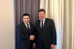 Климкин в Брюсселе встретился с председателем ОБСЕ