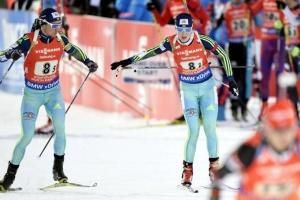 Кубок мира по биатлону: Франция выиграла смешанную эстафету; Украина - 14-я
