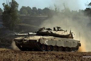 Израильские танки атаковали блокпосты ХАМАС