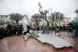 В Виннице память Героев Небесной сотни почтили возложением цветов