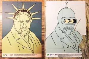 Выставку про Шевченко в метро досрочно отменяют из-за вандала с ножом