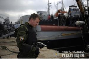 """Полиция установила """"самооборонцев Крыма"""", которые захватывали украинские корабли"""