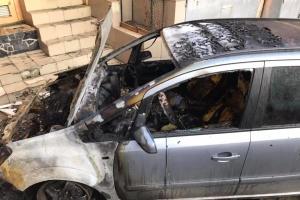 В Одесі згоріло авто історика й активіста Бабича