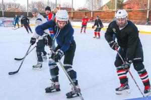 УХЛ провела в Києві перше відкрите тренування для хокеїстів-аматорів