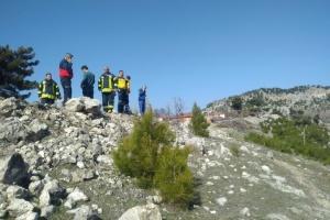 На западе Турции разбился самолет