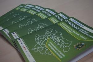 На Харьковщине разработали информброшюры, чтобы привлечь инвесторов в тергромады