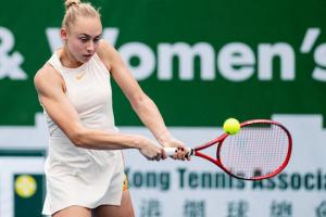 Дарья Лопатецкая остановилась в финале квалификации теннисного турнира в Киото