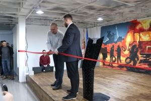 У Черкасах молодіжний центр дозвілля назвали іменем загиблого бійця АТО