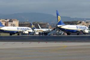 Римский аэропорт закрыли из-за пожара в терминале