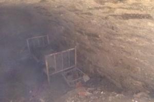В центре Чорткова на Тернопольщине откопали криивку
