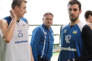 Баскетбол: Мурзин рассказал о готовности сборной Украины к матчу с Черногорией