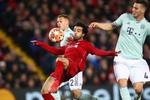Лига чемпионов УЕФА: матчи в Ливерпуле и Лионе завершились без голов