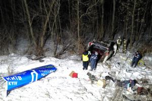Авария микроавтобуса на Полтавщине: умер пятый пострадавший