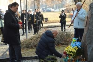 Память Героев Небесной Сотни почтили на Закарпатье