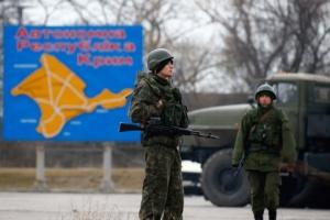 Rusia cometió la agresión en Crimea hace cinco años