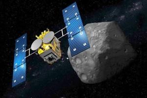 Японский зонд готовится к посадке на астероид