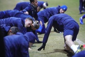 """Футболісти """"Динамо"""" провели відкрите тренування перед грою з """"Олімпіакосом"""""""