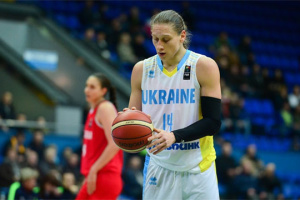 Баскетбол: капитан женской сборной Украины Алина Ягупова будет играть в WNBA