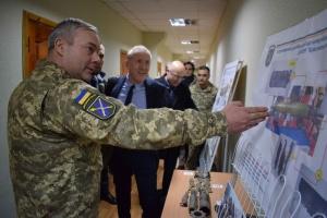 """Наев рассказал наблюдателям ОБСЕ о нарушениях оккупантами """"тишины"""""""