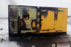 На Миколаївщині зловмисники підпалили асфальтовий завод