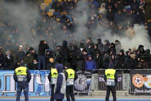 """Матч """"Динамо"""" – """"Олімпіакос"""" відвідало понад 48 тисяч уболівальників"""