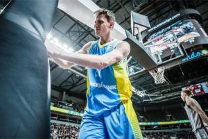 Баскетбол: Пустовой заболел и не поможет сборной Украины в матче с Черногорией