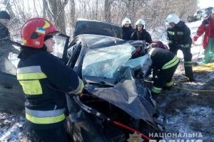 Тройное ДТП на трассе Киев-Чоп: есть погибшие, ранен ребенок
