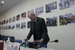 """У Києві презентували фотовиставку """"Журналісти на Євромайдані"""""""