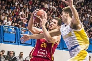 Баскетбол: чоловіча збірна України програла  Чорногорії і не поїде на чемпіонат світу