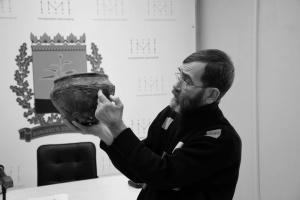 Віталій Циміданов, археолог, кандидат історичних наук