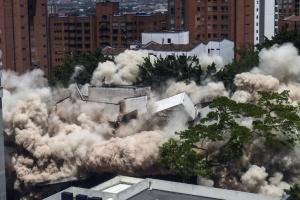 В Колумбии снесли дом Пабло Эскобара