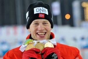 Биатлон: спринт чемпионата Европы выиграл Бё, украинцы - без наград