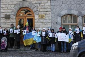 У Гельсінкі пройшла акція до 5-річчя російської окупації Криму