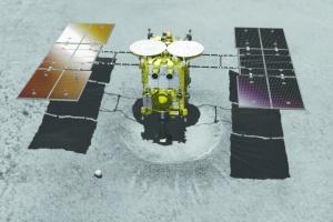 NASA изучает опыт японского зонда Хаябус-2 «покорения» астероида