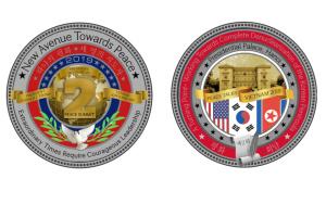 У Трампа выпустили юбилейные монеты ко второму саммиту с Кимом