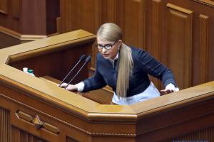 """""""Батьківщина"""" підтримає виборчий законопроект Зеленського - Тимошенко"""