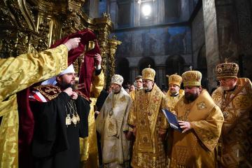 Primado de la Iglesia Ortodoxa de Ucrania entronizado oficialmente