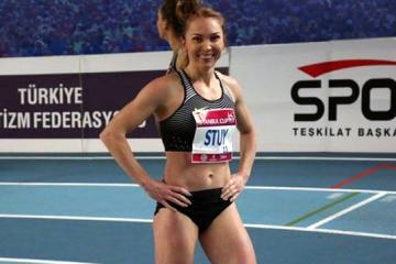 Une athlète ukrainienne,  Hrystyna Stuy,a remporté une médaille d'or aux compétitions en France