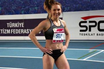 La atleta ucraniana Stuy gana el oro en las competiciones en Francia