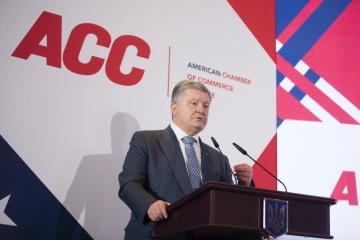 Präsident: 2018 exportierte Ukraine an EU mehr als in allen Jahren der Unabhängigkeit