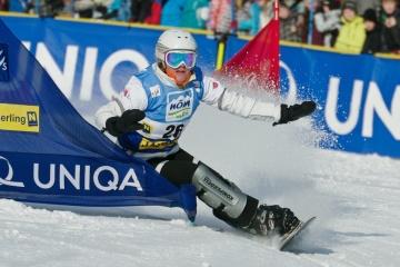 Annamari Dancha gana la primera en la historia de Ucrania medalla en el Campeonato Mundial de Snowboard