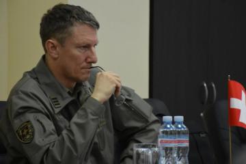 Defense attaché of Swiss embassy visits Donetsk region. Photos