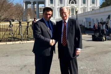 US-Sicherheitsberater Bolton: Treffen mit Außenminister Klimkin war produktiv
