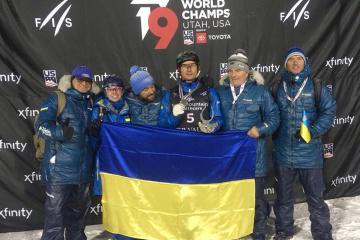 Ukrainian freestyle skier Abramenko wins silver at world championships