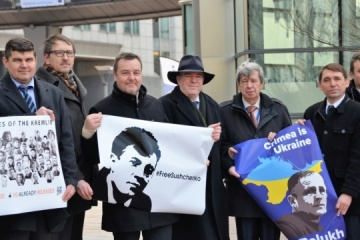Ukraine's ambassador to Belgium, MEPs write letters of support to Sushchenko